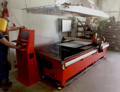 Przecinarka plazmowa CNC Swift-Cut w zakładzie ślusarskim